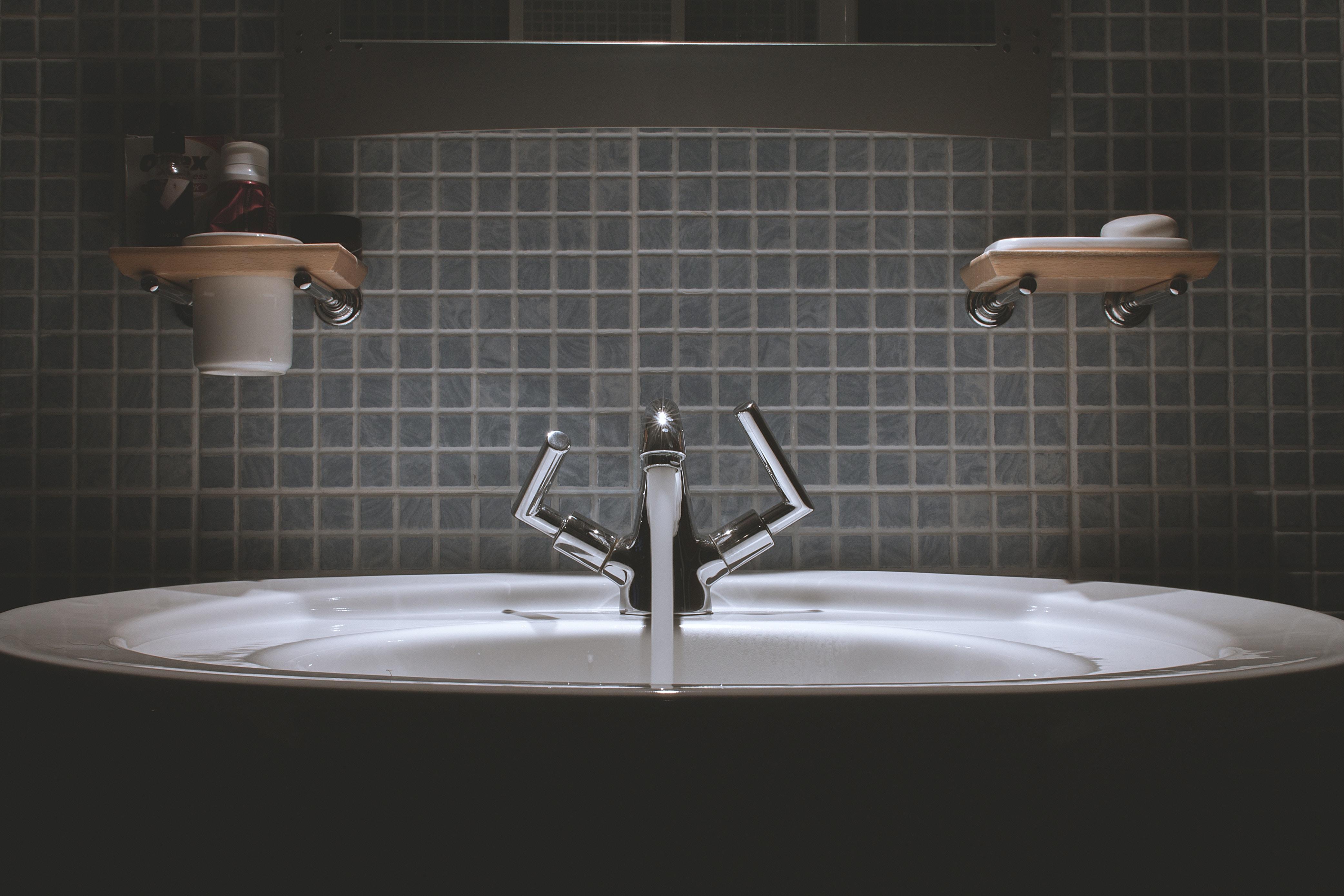 Et udvalg i håndvaske til badeværelset